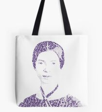 Emily Dickinson - (With 'Hope is the Thing with Feathers' poem) Tote Bag
