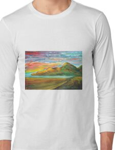 Mourne Abstract 3 Long Sleeve T-Shirt
