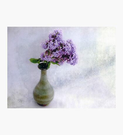 Lilac Time Still Life Photographic Print