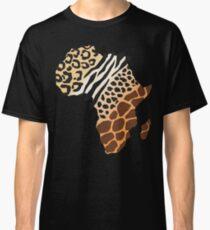 Africa Map African Safari T-Shirt Classic T-Shirt