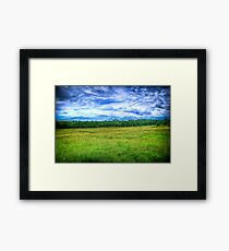 Canon Mountains Framed Print