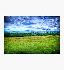 Canon Mountains Photographic Print