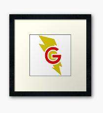 Super Grover Framed Print