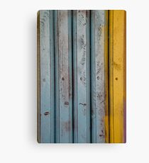 abstract grunge wood texture background Canvas Print