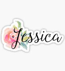 Jessica Custom Name Sticker