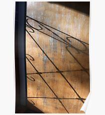 Screen Door Shadow Poster