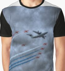 Red Arrows and A400M Airbus Graphic T-Shirt