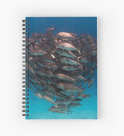 Trevally - print Spiral Notebook