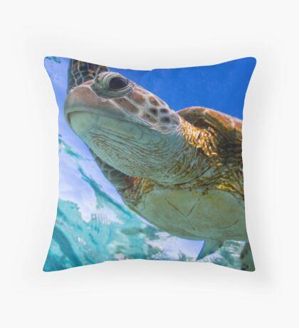 Beauty - print Throw Pillow
