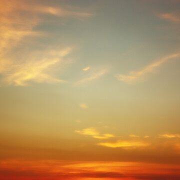 Sunset sky by oleksiyvovk