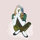 Dreaming / Zen girl by JannekeMeekes