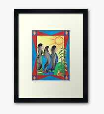 Three Sisters II Framed Print