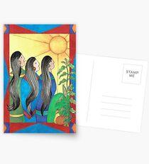 Three Sisters II Postcards