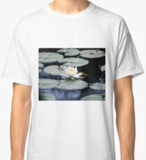 White Water Lilly Classic T-Shirt