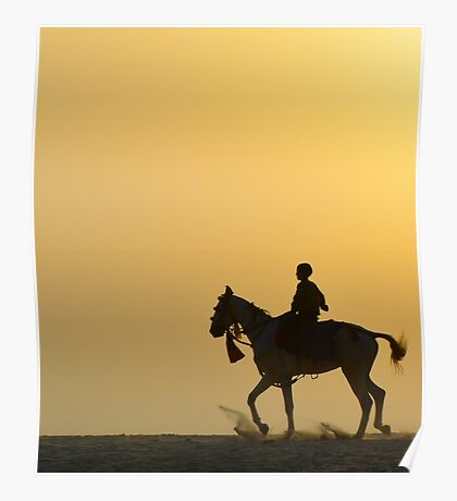 Boy on a Horse Poster