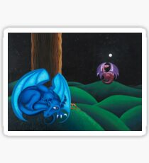 Sleeping Dragon Sticker