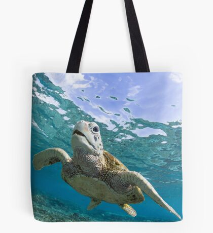 Turtle grin Tote Bag