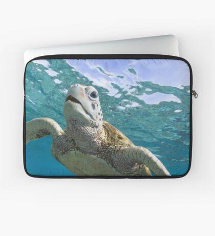 Turtle grin Laptop Sleeve