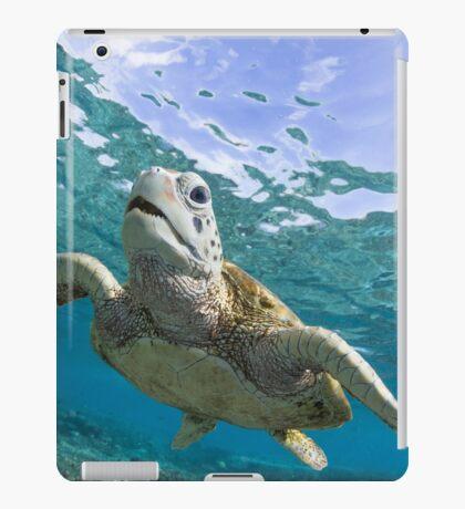 Turtle grin iPad Case/Skin