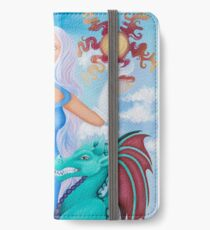 Melty Eyes iPhone Wallet