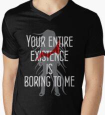 Camiseta para hombre de cuello en v Izuru Kamukura