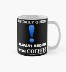 My Daily Coffee Quest - Warcraft Nerd Gamer Geek Mug Mug