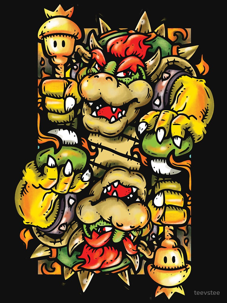 Bowser by teevstee