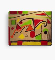 Shapes - Parks and Recreation Canvas Print