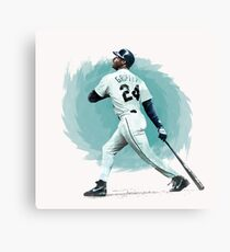 Ken Griffey Jr. Canvas Print