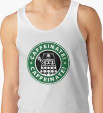 Caffeinate! Exterminate! Men's Tank Top