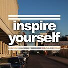 Inspire Yourself - Williamsburg New York by Aaron Fleming