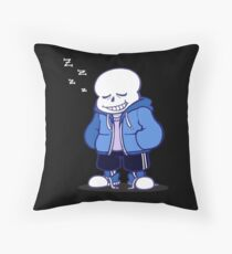 Sans Throw Pillow