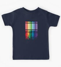 Spattered Crayons  Kids Tee