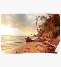 Northern Territory beach Poster