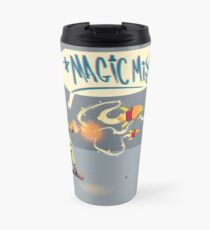 "The wizard casts ""Magic Missile"" Travel Mug"