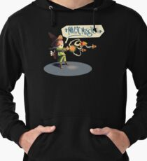 "The wizard casts ""Magic Missile"" Lightweight Hoodie"