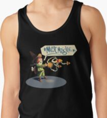 """The wizard casts """"Magic Missile"""" Tank Top"""