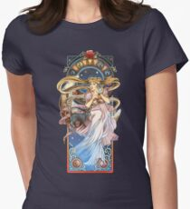 Moon's Serenity Women's Fitted T-Shirt