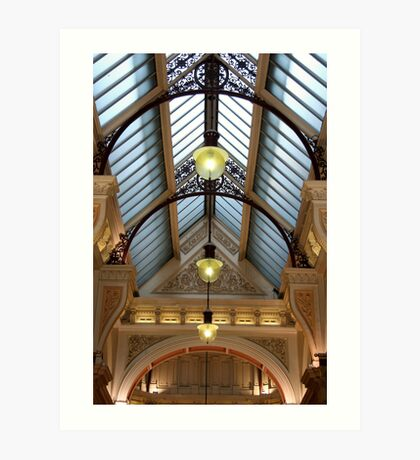 Victorian skylight Art Print