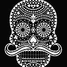 Black Skull  White Suits by Felipe Navega