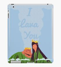 i lava you iPad Case/Skin