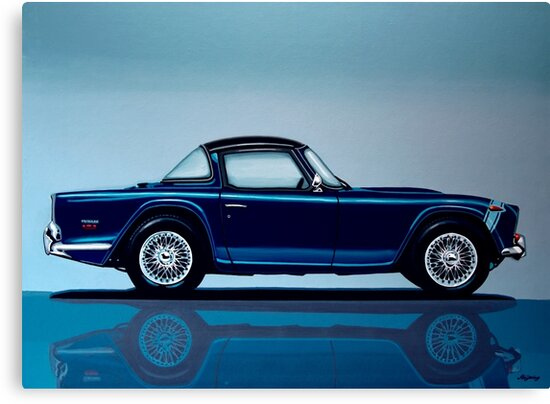 Triumph TR5 Painting by PaulMeijering