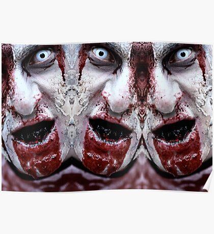 Zombie Smile Poster