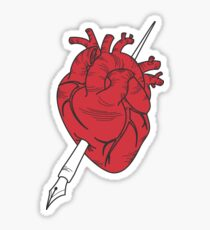 Write Your Heart Out Sticker