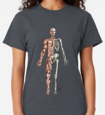 Half Muscle - Half Skeleton Classic T-Shirt