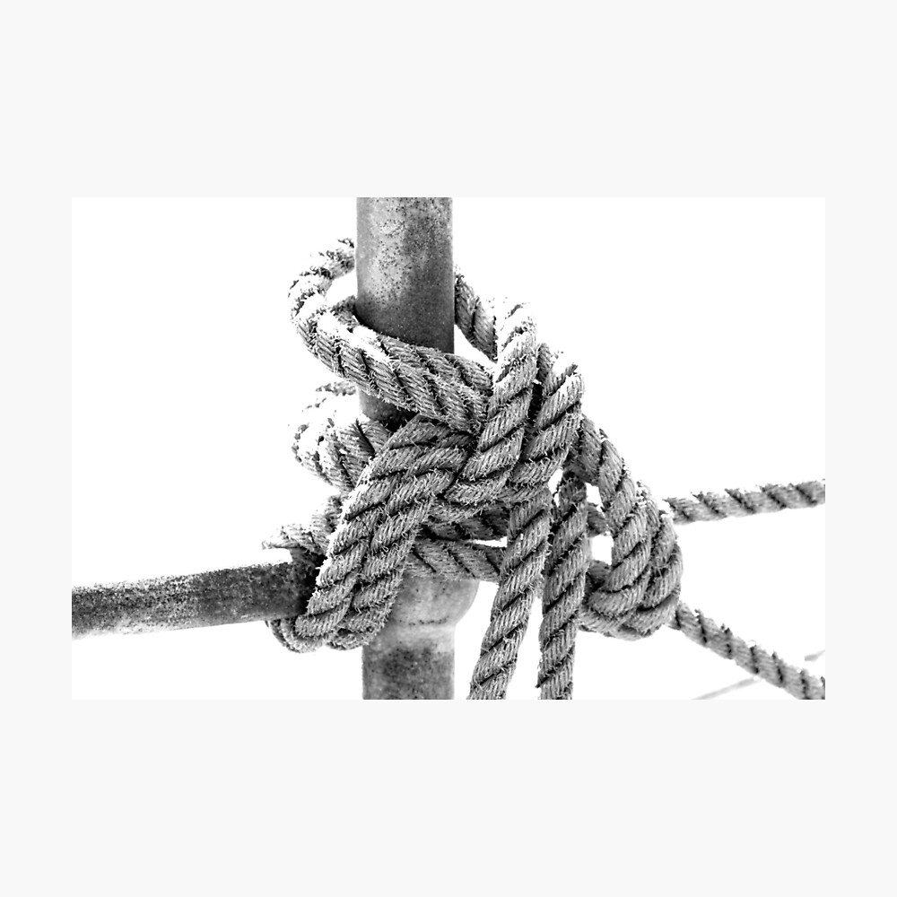 Knotted Rope II Photographic Print