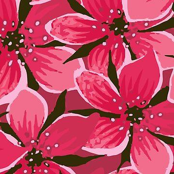 Delilah Floral Pattern by aurora-belle