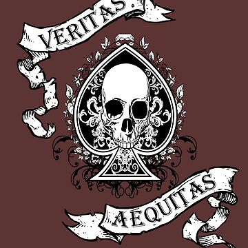 Veritas/Aequitas White by MookHustle
