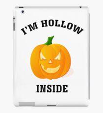 I'm Hollow Inside Halloween Jack O' Lantern iPad Case/Skin