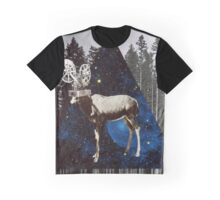 Space Goat Graphic T-Shirt